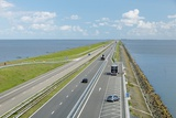 Afsluitdijk Dike, Netherlands Photographic Print by Colin Cuthbert