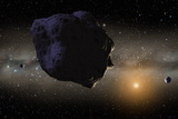 Kuiper Belt Objects Photographic Print by Chris Butler