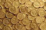 Pound Coins Photographic Print by Victor De Schwanberg