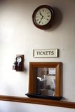 Restored Railway Station Ticket Office Photographic Print by Victor De Schwanberg