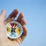 Magnetic Compass Photographic Print by  Cristina