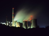 Lignite-burning Power Station Photographic Print by Martin Bond