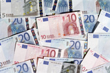Euro Bank Notes Reprodukcja zdjęcia autor Victor De Schwanberg