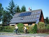 Solar Power Technology, Germany Posters van Martin Bond