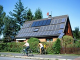 Solar Power Technology, Germany Photographic Print by Martin Bond