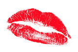 Lips Photographic Print by Victor De Schwanberg
