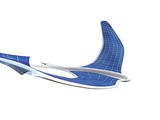 Solar-powered Flapping Wing Photographic Print by Henning Dalhoff