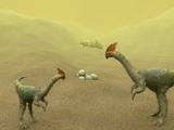 Oviraptor Dinosaurs Prints by Christian Darkin