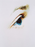 Woman's Eye Photographic Print by  Cristina