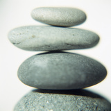 Stacked Pebbles Photographic Print by  Cristina
