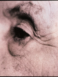 Close-up of An Elderly Woman's Eye (side View) Photographic Print by  Cristina