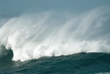 Wind Spray At Sea Photographic Print by Peter Chadwick