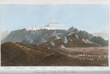 Mount Etna, 19th Century Print by King's College