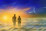 Humanity And the Universe, Artwork Papier Photo par Richard Bizley