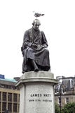 Statue of James Watt Photographic Print by Martin Bond