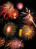 Fireworks Display Fotografisk tryk af Tony Craddock