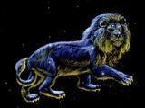 Constellation of Leo, Artwork Fotodruck von Chris Butler