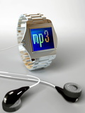 Wrist Watch MP3 Player Photographic Print by Christian Darkin