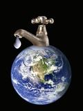 Water Conservation, Conceptual Image Reproduction photographique par Victor De Schwanberg