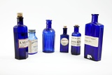 Antique Pharmacy Bottles Photographic Print by Gregory Davies