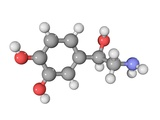 Norepinephrine Neurotransmitter Molecule Reproduction photographique par Laguna Design