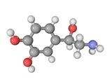 Norepinephrine Neurotransmitter Molecule Photographic Print by Laguna Design
