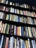 Books on Bookshelves Photographic Print by Martin Bond