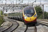 Pendolino Tilting Train Photographic Print by Martin Bond