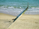 Wooden Groyne Photographic Print by Martin Bond