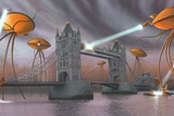 War of the Worlds, Artwork Print by Richard Bizley