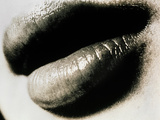 Lips of a Woman Photographic Print by  Cristina