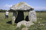 Bodowyr Burial Chamber Photographic Print by Martin Bond