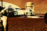 Mars Base Prints by Christian Darkin