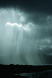 Rain Shower Over the Sound of Mull, Scotland Photographic Print by Dr. Jeremy Burgess