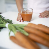 Carrot Juice Premium Photographic Print by  Cristina