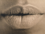 Woman's Lips Photographic Print by  Cristina