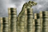 Unstable Economy, Conceptual Image Reprodukcja zdjęcia autor Victor De Schwanberg