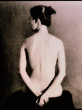 Posterior View of the Torso of a Seated Woman Photographic Print by  Cristina