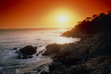 Sunset Over the Coastline of Big Sur, California Photographic Print by Tony Craddock