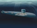 Henning Dalhoff - Research Submarine Fotografická reprodukce
