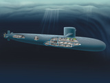 Henning Dalhoff - Research Submarine - Fotografik Baskı