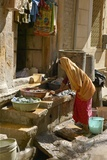 Washing, India Photographic Print by Colin Cuthbert