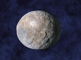 Asteroid Ceres, Artwork Photographic Print by Chris Butler
