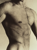 Nude Man's Torso Photographic Print by  Cristina
