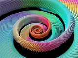 Spiral Fractal Photographic Print by Laguna Design