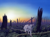 Cretaceous-Tertiary Extinction Event Photographic Print by Richard Bizley