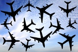 Air Traffic, Conceptual Image Photographic Print by Victor De Schwanberg