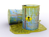 Hazardous Waste, Artwork Photo by Christian Darkin