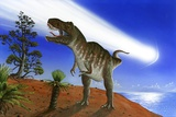 Extinction of the Dinosaurs, Artwork Photographic Print by Richard Bizley