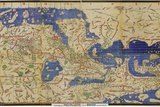 Al-Idrisi's World Map, 1154 Fotografisk tryk af Library of Congress